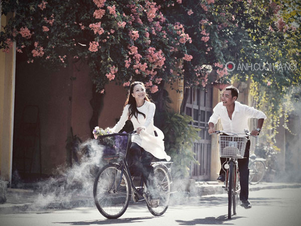 ao dai cuoi dep 3 Áo dài cưới   nét đẹp truyền thống của Việt Nam