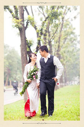 ao dai cuoi dep 5 Áo dài cưới   nét đẹp truyền thống của Việt Nam
