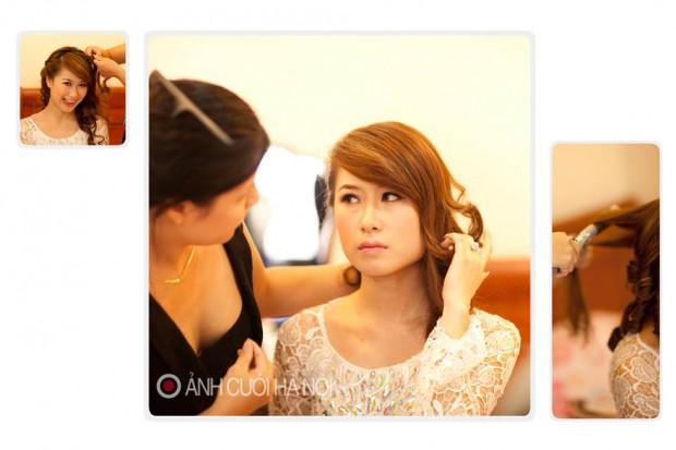 tho trang diem co dau 4 620x413 Thợ trang điểm cô dâu đẹp ở Hà Nội