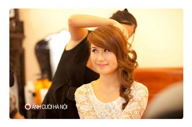 trang diem co dau dep 31 Trang điểm cô dâu đẹp và chuyên nghiệp