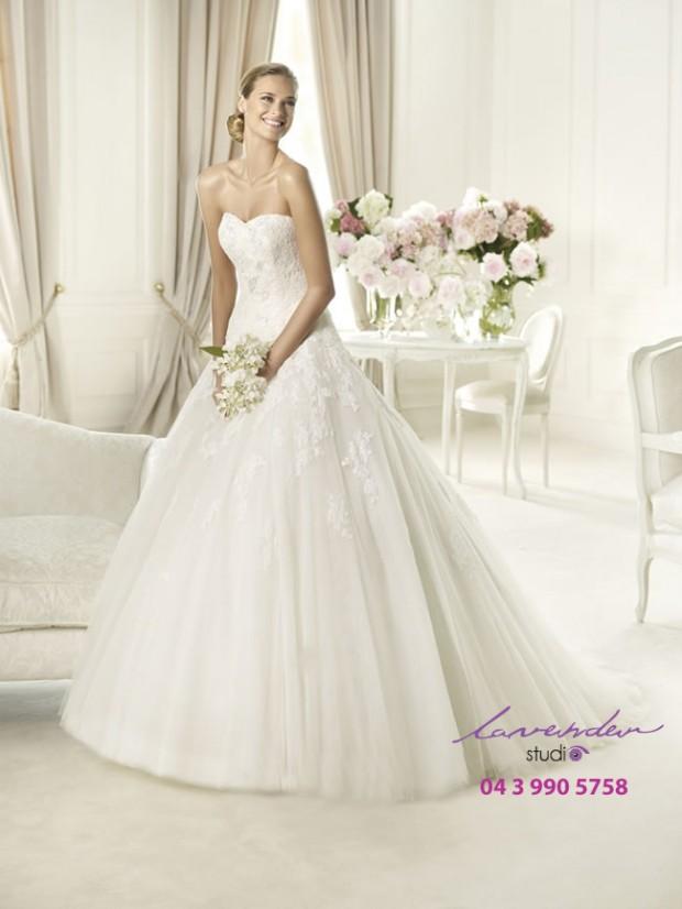 ao cuoi cong chua 4 620x826 Áo cưới công chúa đẹp điệu đà