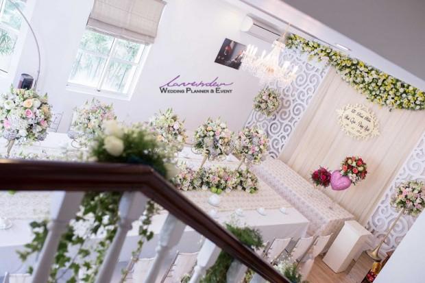 dich vu trang tri tiec cuoi tai nha 620x413 Trang trí tiệc cưới tại nhà cho các cặp cô dâu chú rể ở TPHCM
