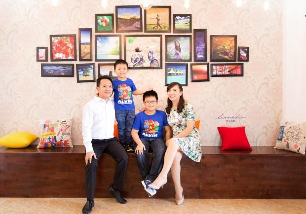chup anh gia dinh uy tin 620x434 Cách để chọn được một studio chụp ảnh gia đình đẹp?