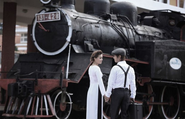 chup hinh cuoi nha ga nha trang 620x401 Nha Trang ngoài biển, còn có địa điểm nào chụp hình cưới đẹp?