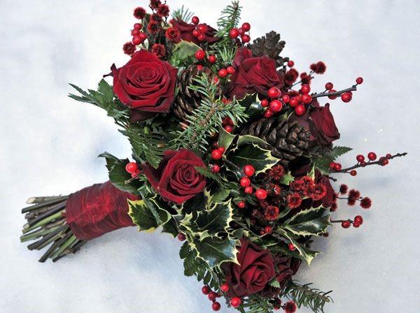 hoa cam tay cuoi dep Mang không khí noel vào tiệc cưới cuối năm của bạn.