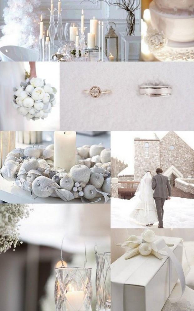 trang tri tiec cuoi dep 620x992 Mang không khí noel vào tiệc cưới cuối năm của bạn.