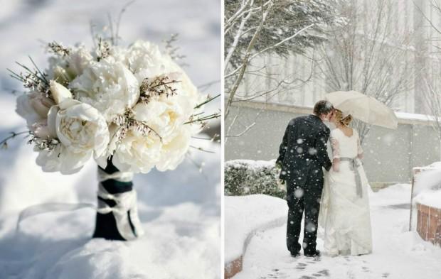 trang tri tiec cuoi lang man 620x393 Mang không khí noel vào tiệc cưới cuối năm của bạn.