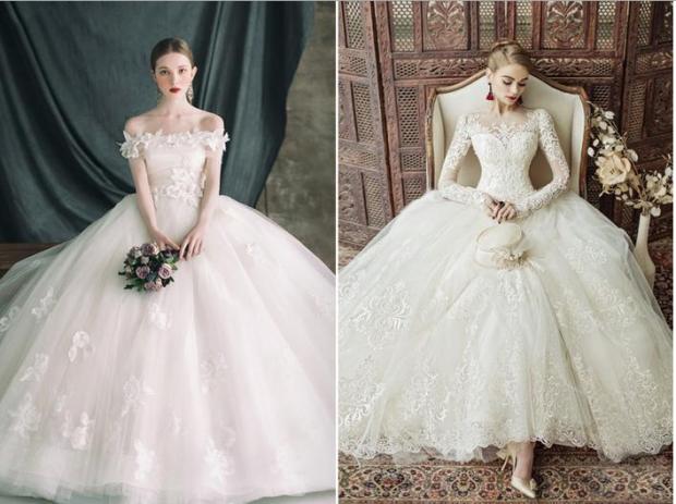 vay cuoi dep tphcm 620x463 Những điều cần lưu ý khi thuê váy cưới đúng theo phong cách của mình