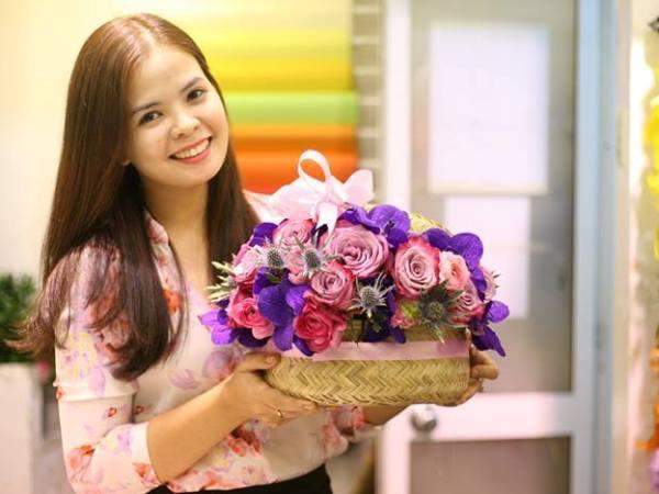 dien hoa lavender Dịch vụ điện hoa trực tuyến   hướng đi mới của nhiều bạn trẻ hiện nay