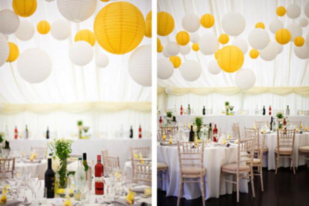 trang tri tiec cuoi 2017 8 620x413 Tiệc cưới 2017: nên chọn màu sắc nào?