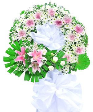 hoa chia buon 12 Cách chọn hoa chia buồn