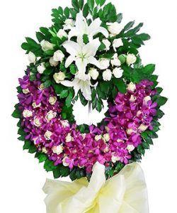hoa chia buon 9 Cách chọn hoa chia buồn