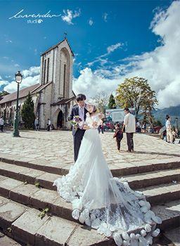 chup hinh cuoi dep o hn 2 Nhà thờ chụp hình cưới đẹp ở Hà Nội
