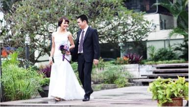 chup hinh cuoi o HN 1 Nhà thờ chụp hình cưới đẹp ở Hà Nội
