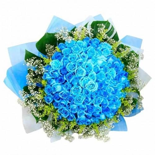 co nen tang hoa cho ban gai 6 Có nên tặng bạn gái mới quen hoa hồng xanh?