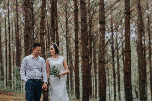 HBI 6340 620x414 Kể câu chuyện tình bằng bộ ảnh cưới đẹp mê hồn tại Đà Lạt