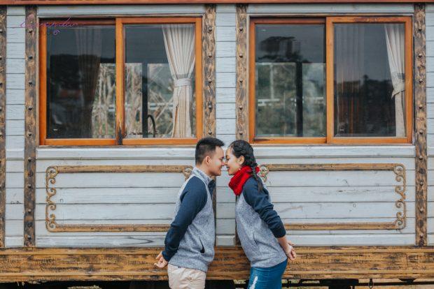 HBI 6374 620x414 Kể câu chuyện tình bằng bộ ảnh cưới đẹp mê hồn tại Đà Lạt