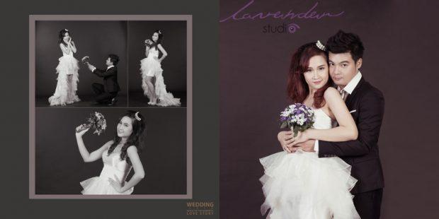 wedding tuan ngoc 10 620x310 Chụp hình cưới Hàn Quốc tại studio có đắt không?