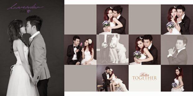 wedding tuan ngoc 12 620x310 Chụp hình cưới Hàn Quốc tại studio có đắt không?