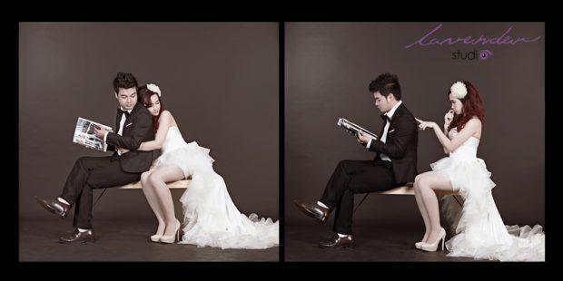 wedding tuan ngoc 14 620x310 Chụp hình cưới Hàn Quốc tại studio có đắt không?