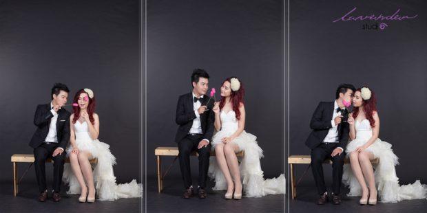 wedding tuan ngoc 18 620x310 Chụp hình cưới Hàn Quốc tại studio có đắt không?