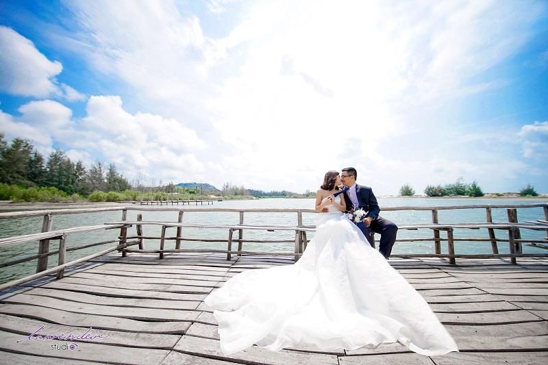 Phim trường chụp hình cưới tại Hồ Cốc Hồ Tràm