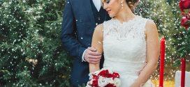 Chụp ảnh cưới phong cách giáng sinh đang trở thành xu hướng
