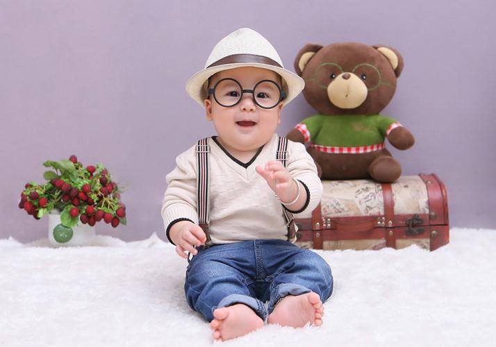 Chụp hình baby 1 tuổi