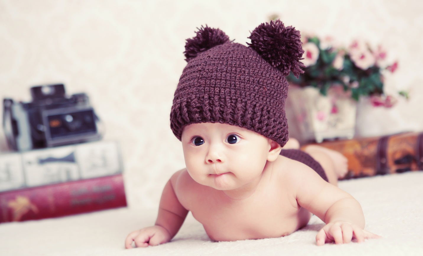Chụp hình baby 1 tháng tuổi
