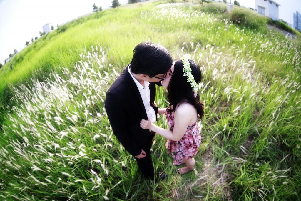 Chụp hình couple cho nam   nữ