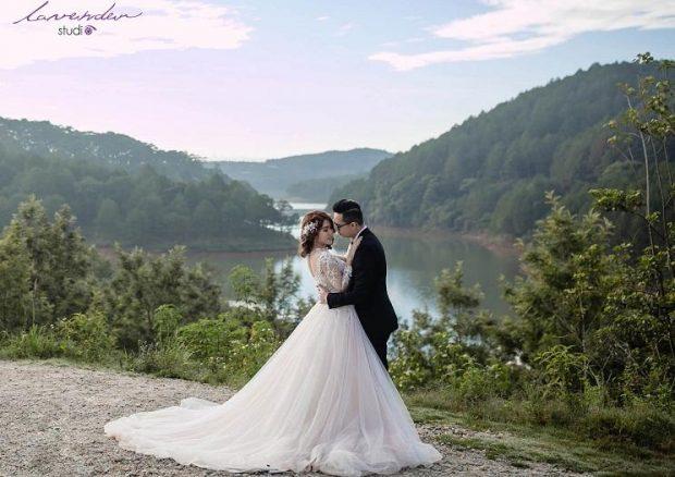 chup anh cuoi dep gia re 1 620x438 Du lịch kết hợp chụp ảnh cưới đẹp giá rẻ tại Đà Lạt