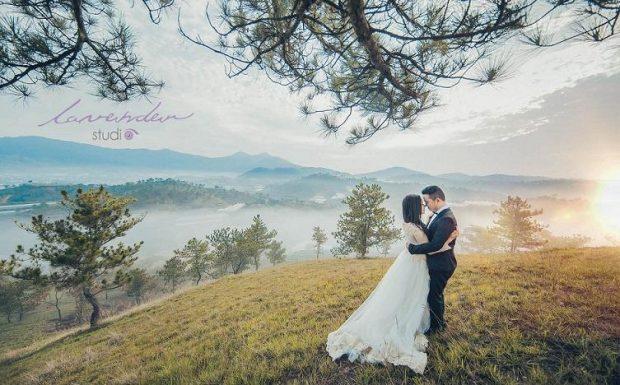 chup anh cuoi dep gia re 2 620x385 Du lịch kết hợp chụp ảnh cưới đẹp giá rẻ tại Đà Lạt