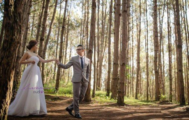 chup anh cuoi dep gia re 3 620x396 Du lịch kết hợp chụp ảnh cưới đẹp giá rẻ tại Đà Lạt