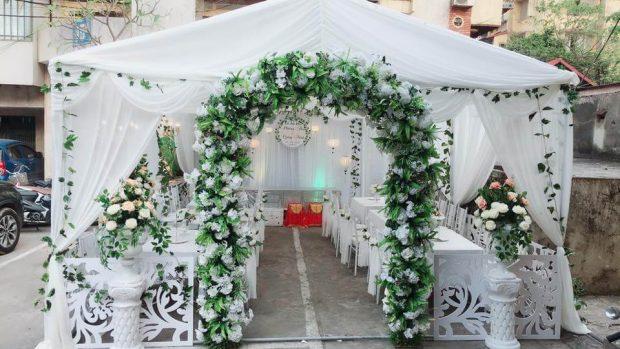 cong cuoi dep 2019 1 620x349 Kiểu trang trí cổng cưới đẹp năm 2019 nào đang là xu hướng?