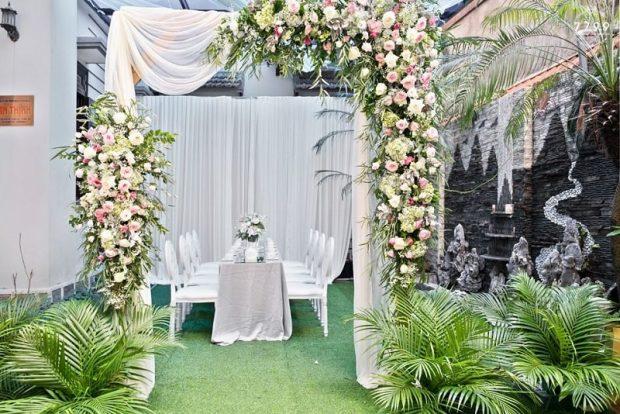 cong cuoi dep 2019 2 620x414 Kiểu trang trí cổng cưới đẹp năm 2019 nào đang là xu hướng?