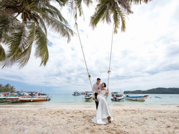 chup anh cuoi o phu quoc 620x465 Điều gì làm nên sức hút của dịch vụ chụp ảnh cưới ở Phú Quốc