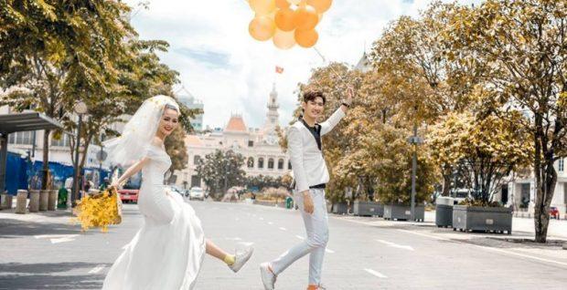 chup hinh cuoi tphcm o dau dep 5 620x318 Những điểm thu hút của dịch vụ chụp ảnh cưới ngoại cảnh Tp.HCM