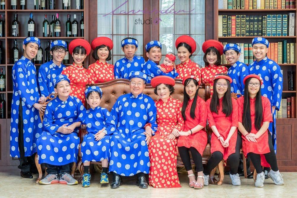 studio chup hinh gia dinh tet dep 01 1000x666 Địa chỉ chụp hình gia đình dịp lễ